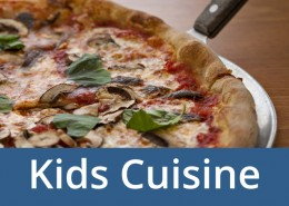 Cookery classes for kids.